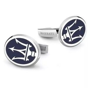 Other - Maserati Auto Car Cufflinks Set